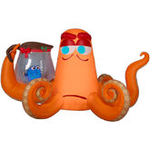 Gemmy 2016 inflatable-Christmas Dory & Hank