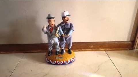 Gemmy Animated Abbott And Costello