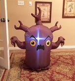 Gemmy Prototype Halloween Scary Tree Inflatable Airblown