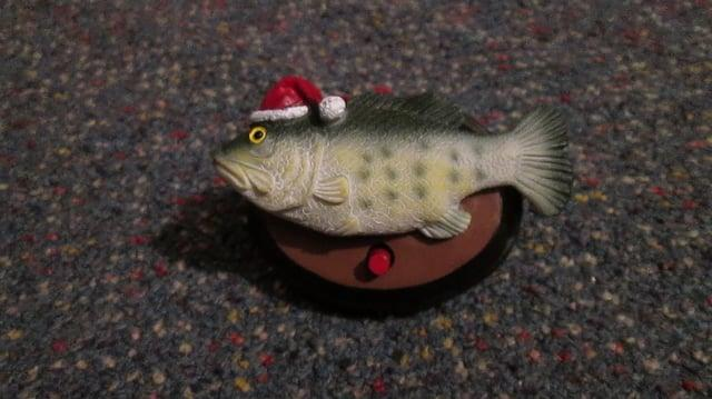 Christmas Big Mouth Billy Bass Ornament version