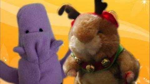 Dancing Hamster - Rudy - Jingle Bells (CHRISTMAS)