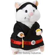Mini Dancing Hamsters-Kung Fu Jr (Black)