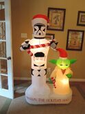 Gemmy inflatable Star wars Christmas