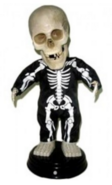 Booty skeleton