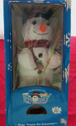 Singing animated snowman 3