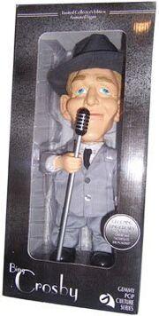 Bing Crosby Crooning Singing, Dancing Big Head Doll