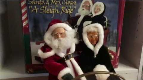 Rare! Santa & Mrs
