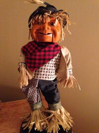 GEMMY ANIMATED DANCING SINGING SCARECROW