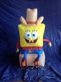 Gemmy inflatable cowboy spongebob