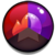 Gem Red Purple Brown