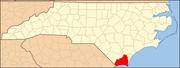 North Carolina Map Highlighting Brunswick County.PNG