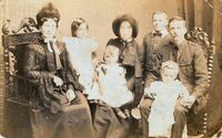 Frederick Thomas Jenner, Lillian Maud England and their children
