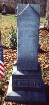 Alexander Morrison (1808-1853) grave