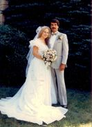 Deborah Szczesny & Steven Rice wedding (1985)
