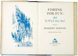 Books fishing for fun