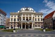 Slovak National Theatre in Bratislava - Old building