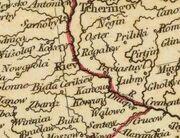 Kiev on 1804 map