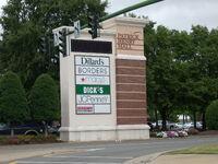 Patrick Henry Mall sign, Hampton Roads, Virginia