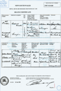 Ricahrd Marks (1844-1907) Death Certificate