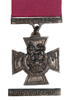 Victoria Cross Medal Ribbon & Bar