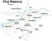 Cluj-Napoca Districts