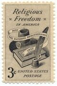 The Flushing Remonstrance Stamp