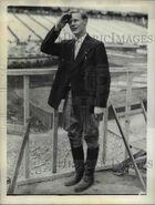 Eddie August Schneider (1911-1940) at the National Air Race in Chicago, Illinois in 1930