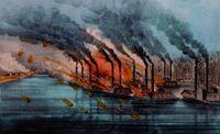Battle of Fort Henry 1862