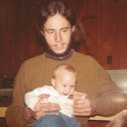 John Earl Borland II and Samuel Taylor Van Horn in 1970