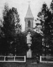 Church circa 1891