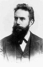 Wilhelm Conrad Röntgen (1845--1923)