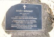Mary hayes plaque