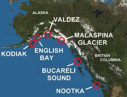 Spanish contact in BC and Alaska