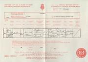 Catherine Elizabeth Finn (1864-1918) birth certificate