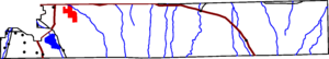 Map of Arapahoe County, Colorado