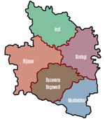PoliticalMap BijapurDist Karnatak Nov06