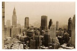 New York City Midtown from Rockefeller Center NIH