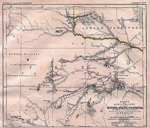 Texas Rivers 1895