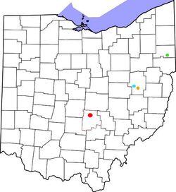 Ohio-Messerly residences-1850