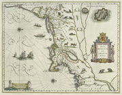 Map - Nova Belgica et Angla Nova -Early New Netherland-