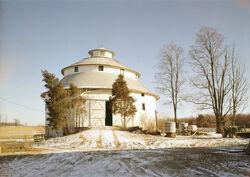 Round barn Indiana