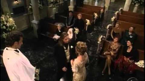 OLTL Todd and Blair - 1995 Golden Balloon Wedding-11 14 95