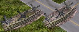 ECA Tank Trap Barricade