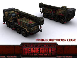 Russian Const Crane