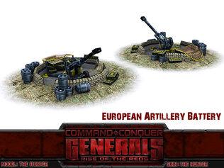 Artilery Battery Render old
