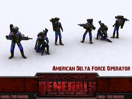 American Delta Gunner