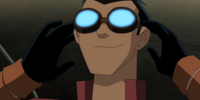 Rex Salazar's goggles