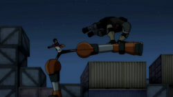 Hunter Cain Fight Rex