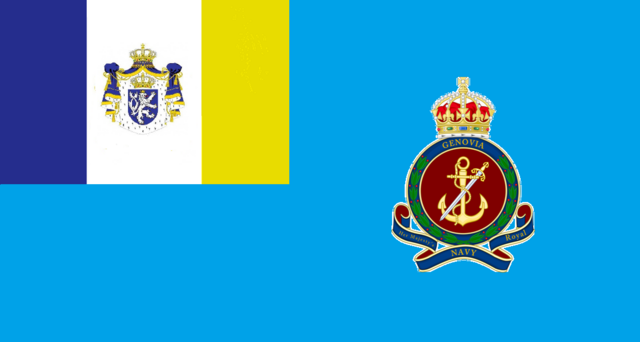 File:Flag of the Royal Genovian Navy.png