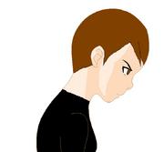 Angry or sad Anna Black